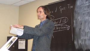 Ομιλία του Prof. Brandenberger, στον Τομέα Φυσικής